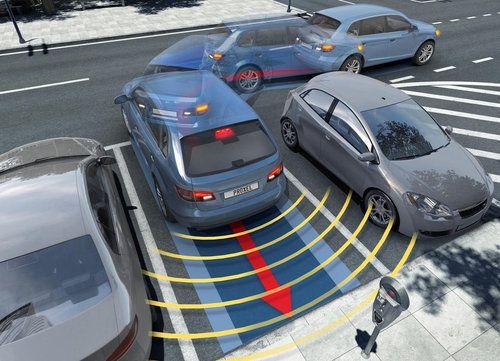 Parking sensors Proxel EPS in reverse