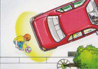 Electromagnetic Parking Sensor obstacles