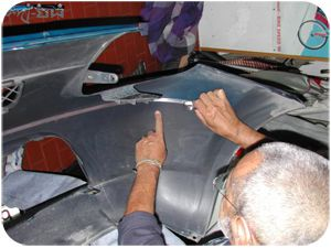 Application of antenna sensor