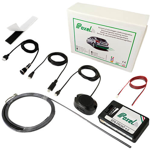 Invisible electromagnetic parking sensors front EPS-STRIP FRONT