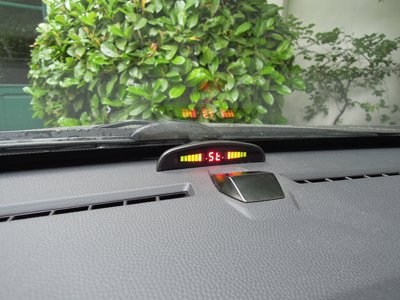 Display proxel rear dual dashboard car