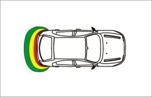 sensores de aparcamiento de la zona, electromagnéticos
