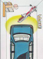 Caja de sensores de aparcamiento electromagnético
