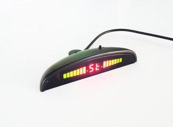 Sensores aparcamiento electromagneticos invisibles wireless - pantalla frente