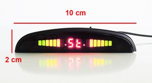 Sensores aparcamiento electromagneticos invisibles wireless - pantalla dimensiones
