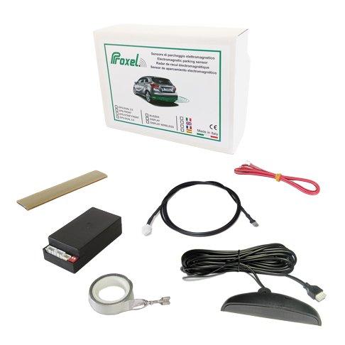 Sensores de aparcamiento traseros electromagnética invisible EPS-DUAL 2.0 con pantalla