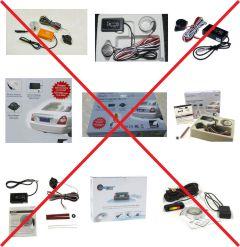 Sensores de aparcamiento falsificadas