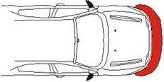 Sensore di parcheggio EPS-STRIP FRONT Zona Rossa