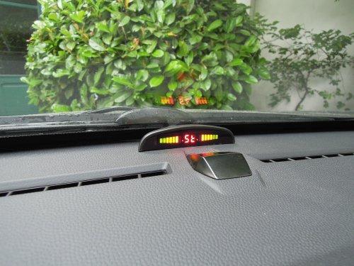 sensori di parcheggio elettromagnetici invisibili display wireless cruscotto