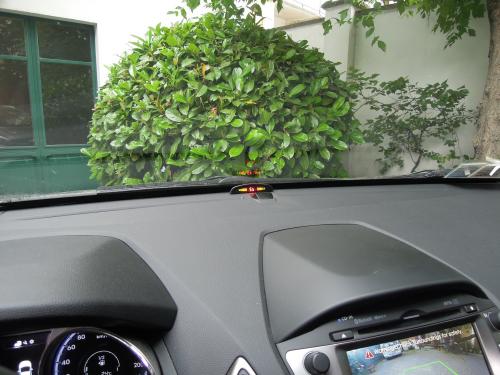 sensori di parcheggio elettromagnetici invisibili display wireless plancia