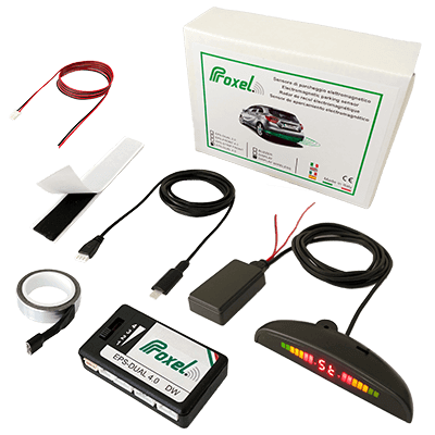 kit sensori parcheggio invisibili eps dual 3 kit display wireless
