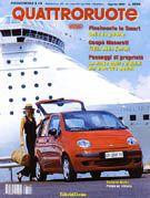 Articolo sensore di parcheggio EPS Quattroruote agosto 1998
