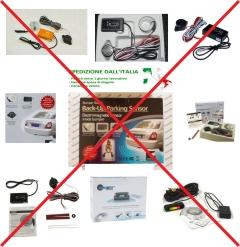 Sensori di parcheggio contraffatti
